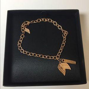 Ashley Bridget Jewelry - Ashley Bridget Gold Guardian Angel Wings Bracelet
